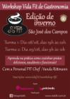 Workshop Gastronomia Fit