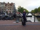 chegada a Amsterda